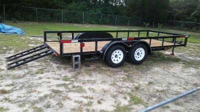 16 ft. Used Utility Trailer