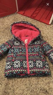 Toddler girls size 2t Carters puffer coat jacket , ppu only