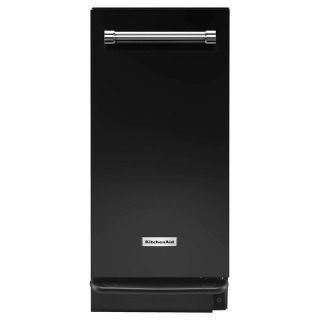 KitchenAid 15 in. Built-In Trash Compactor in Black KTTS505EBL