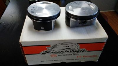 NEW Harley Screamin Eagle 103 Pistons and Rings