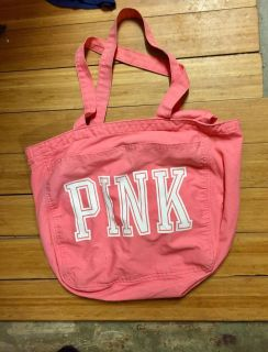 Victoria s Secret pink tote in good used condition