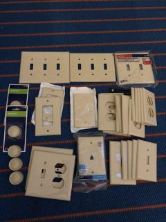 Assorted wall plates