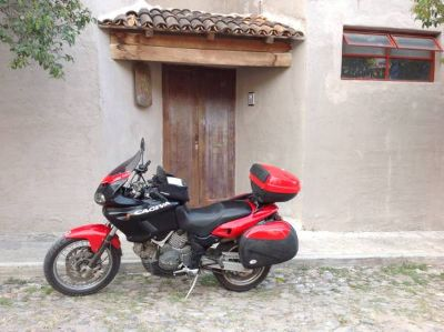 2000 Cagiva Grand Canyon... Adventure included