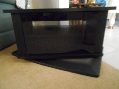 Small Black Swivel Cabinet - Need to sell SOON!