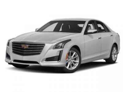 2019 Cadillac CTS Sedan Luxury RWD (Crystal White Tricoat)