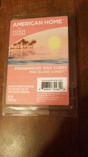 Yankee Candle Pink Island Sunset Wax Cubes