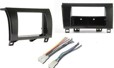 Sell Toyota Tundra Sequoia Car Stereo Radio Install Dash Panel Trim Mount Kit Harness motorcycle in Oliver Springs, Tennessee, US, for US $28.99