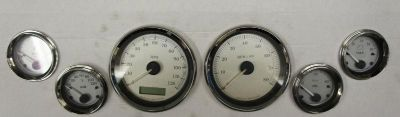 Buy USED HARLEY DAVIDSON 2007 GAUGES VOLT SPEEDO TACH AIR FUEL BAGGER TOURING FLHX motorcycle in Gambrills, Maryland, US, for US $150.00