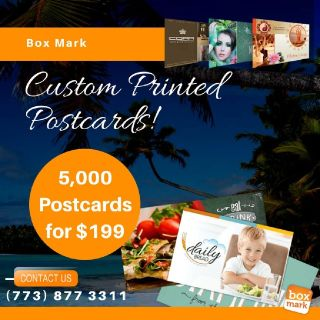 custom printing postcards