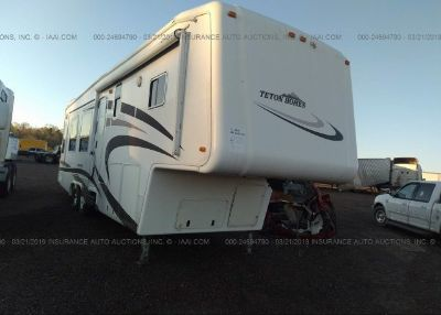 2008 TETON TRAVEL TRAILER