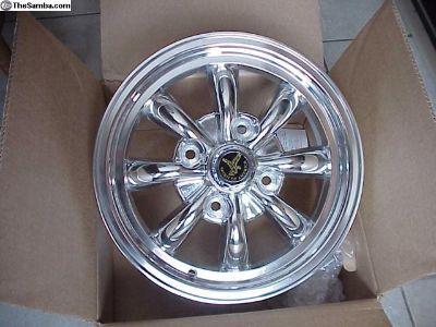Polished American Eagle 8 Spokes Mag Wheel