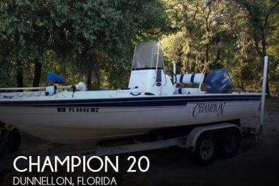 2005 Champion 20 Sea champ