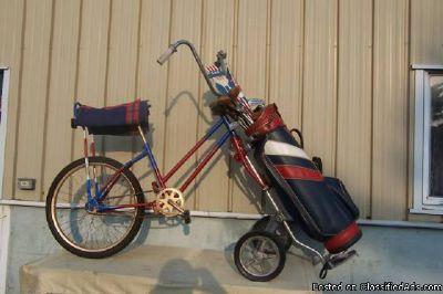 *Red White Blue Golf Bag Bike