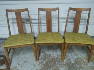 (3) Chairs - Great for refurbish PROJECT