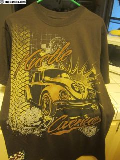 Garage Racing T shirt - Los Angeles Calif