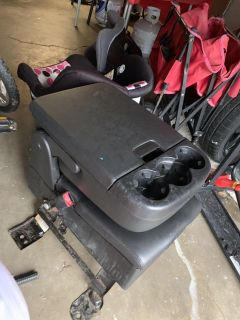 Center console seat replacement