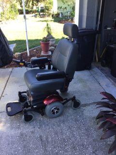 Merit visonsport power chair