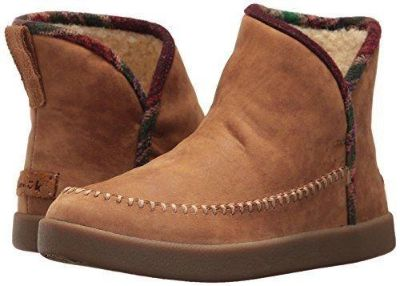 Sanuk Womens Bootah LX Ankle Bootie Size 7