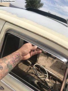 65 later beetle door vent shades (1 pair)