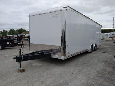 2020 Formula Velocity 8.5x28 Enclosed Race Trailer *Spread A