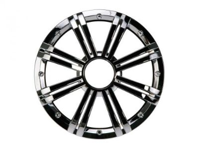 """Sell Kicker 41KMW10GCR 10"""" Round Grille For KM10 Marine Audio Subwoofers - Chrome New motorcycle in Nixa, Missouri, United States, for US $49.95"""