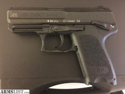 For Sale/Trade: H&K USP Compact 9mm