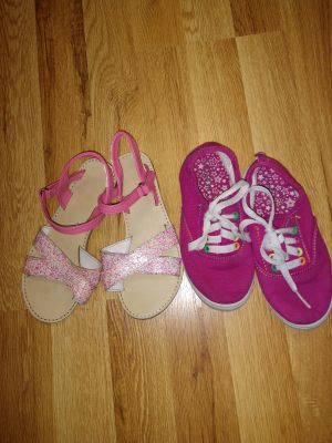 2 pair of shoes