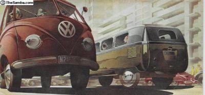 1953 1954 18 Page Barndoor Bus Sales Brochure