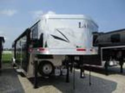 2019 Lakota Trailers 8415 Charger Slide 4 horses
