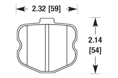 Sell HAWK HB531Z.570 - 06-07 Chevy Corvette Front Brake Pads Ceramic motorcycle in Chino, California, US, for US $199.89