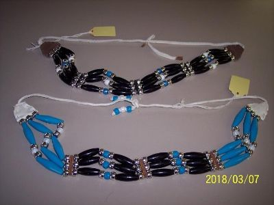 Hand Made Native American Bead Necklaces