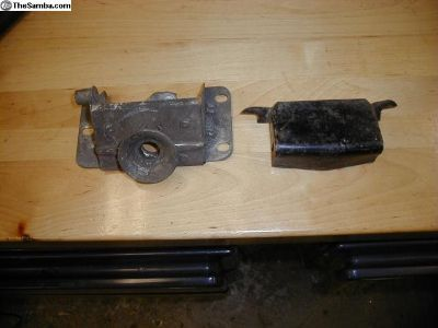 1950s 60s Beetle Hood Latch with Guard Used