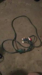 Xbox 360 component HD a cable