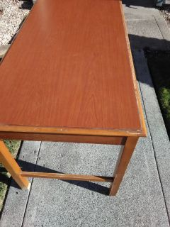 Raised Table, for kitchen, sewing etc...has dings