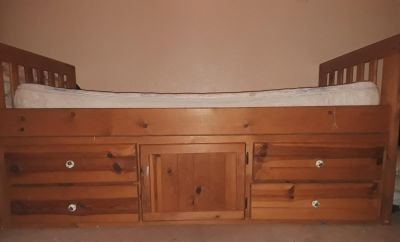King Captain twin bed