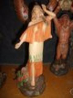 REDUCED 6 NATIVE AMERICAN FIGURINES