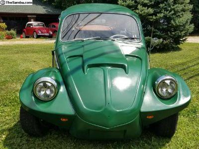 """1969 /65 Volkswagen Beetle - """"The FROG"""""""