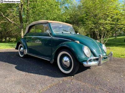 1961 Volkswagen Convertible