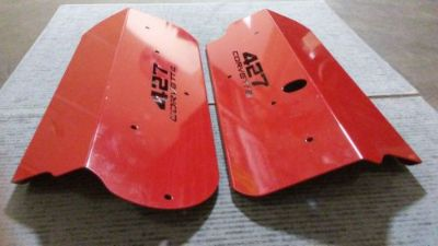 Sell Red 427 Corvette Coil Covers LS7 ONLY Stock Fuel Rail, Stock Manifold motorcycle in Rancho Cucamonga, California, United States, for US $199.99