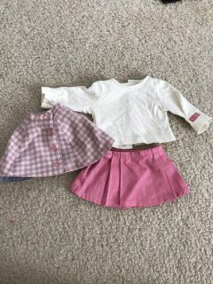American Girl Doll Pink Outfit