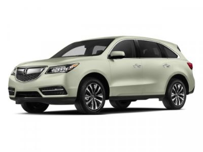 2014 Acura MDX Base w/Tech (White Diamond Pearl)