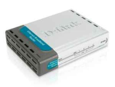 Broadband Router, 4-Port, DI-604