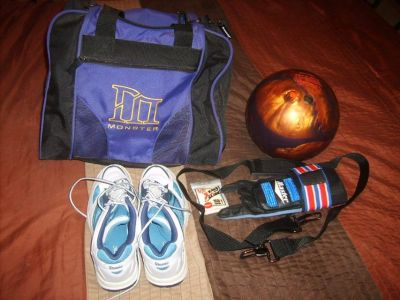 Bowling Ball and Accessories