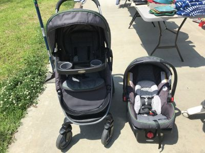Graco modes click connect stroller and car seat combo