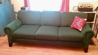 Beautiful Green Couch