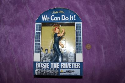 """New in Package Archie McPhee """"We Can Do It! Rosie The Riveter"""" Collectible"""