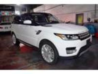 used 2017 Land Rover Range Rover Sport for sale.