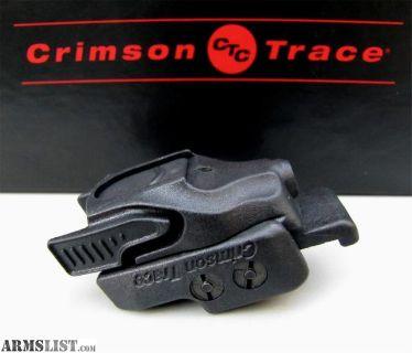 For Sale: CRIMSON TRACE RAIL MASTER CMR-201 RED LASER