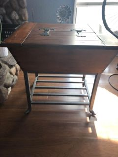 Table with storage