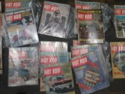 old hot rods and popular hot rodding magazines
